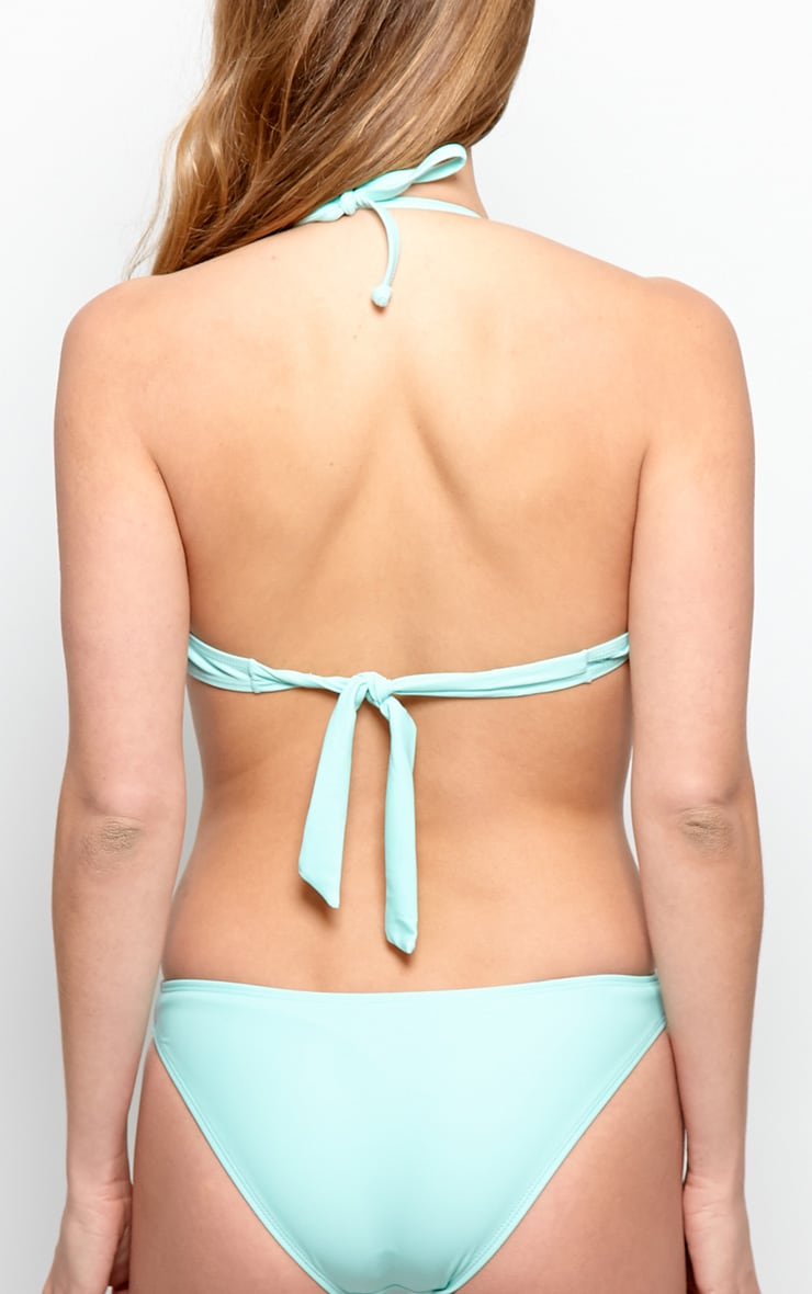 Blanca Mint Cut-Out Frill Swimsuit 3