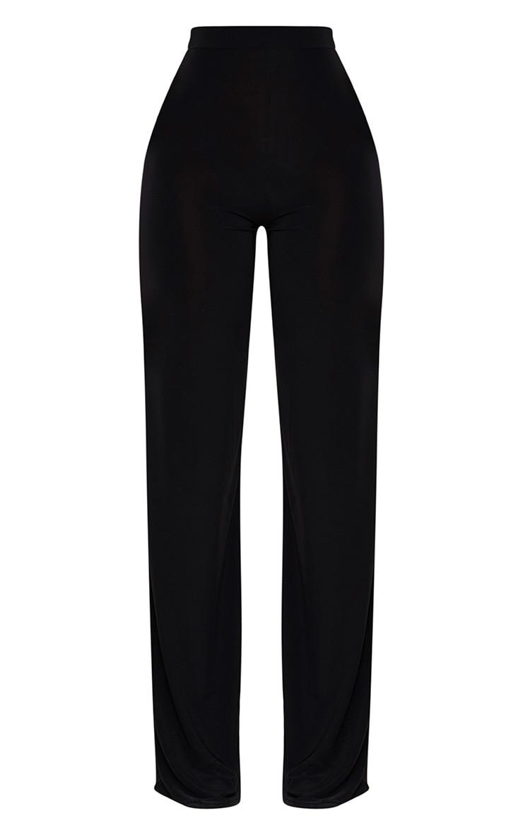 Shape Black Slinky Wide Leg Trousers 3