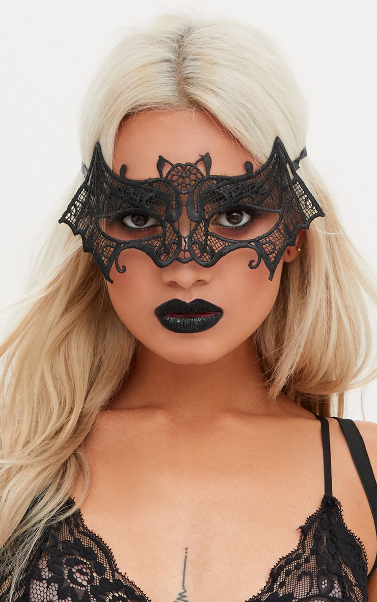 Black Bat Mask 1