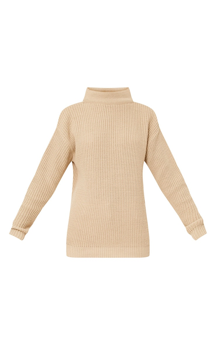 Shawnette Stone Cut Out Back Knitted Jumper 3