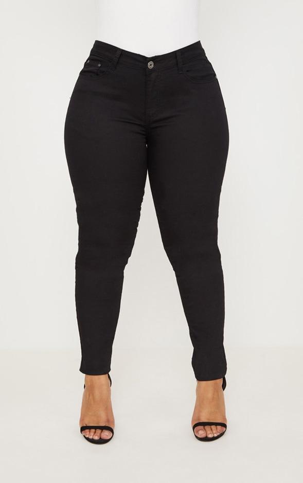 PLT Plus - Jean skinny noir 6