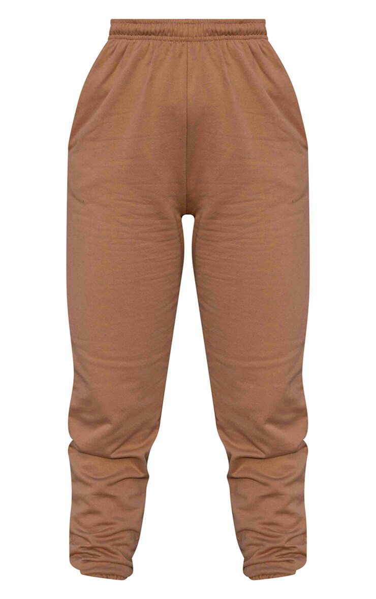 Pantalon de jogging marron chocolat casual 5