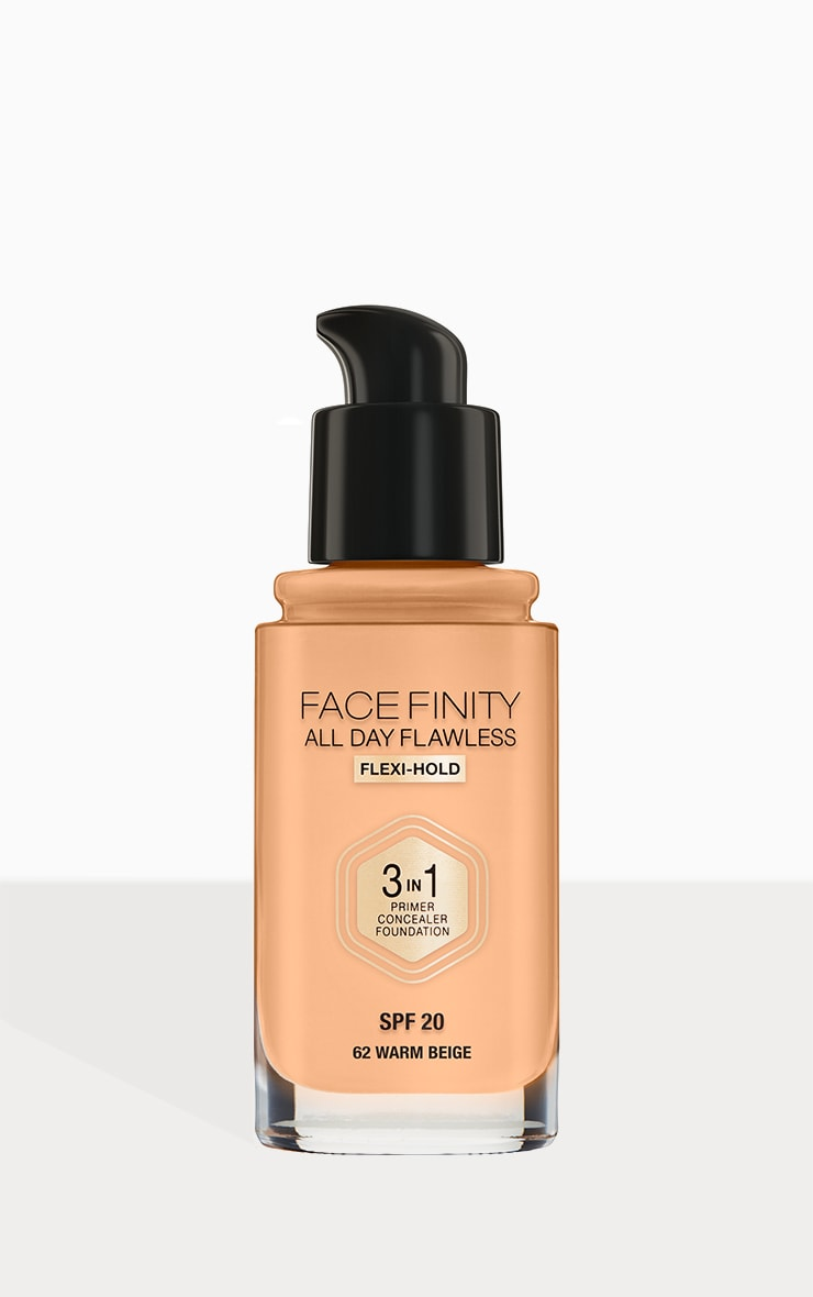 Max Factor Facefinity All Day Flawless Foundation Warm Beige 3