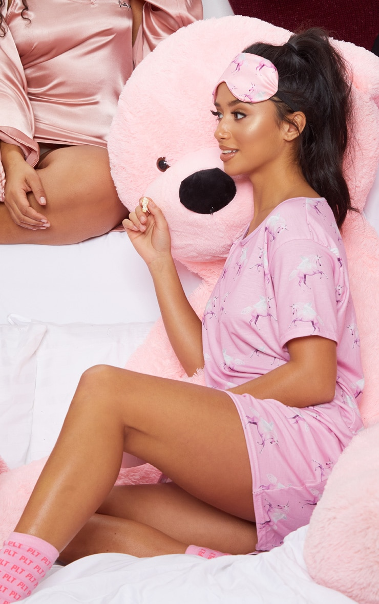 Petite - Nuisette rose à licornes PRETTYLITTLETHING 6