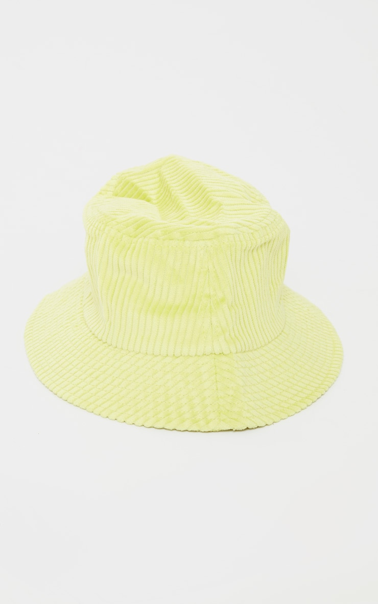 Lime Cord Bucket Hat 2