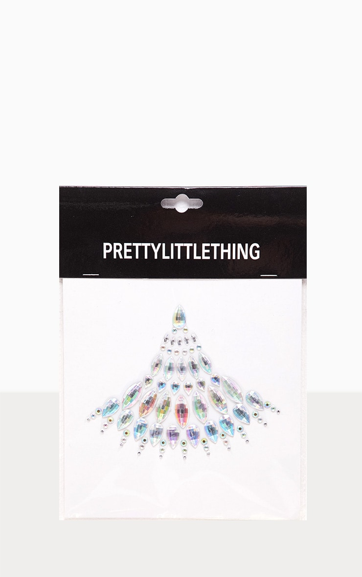 PRETTYLITTLETHING Magical Powers Iridescent Body Crystals 2