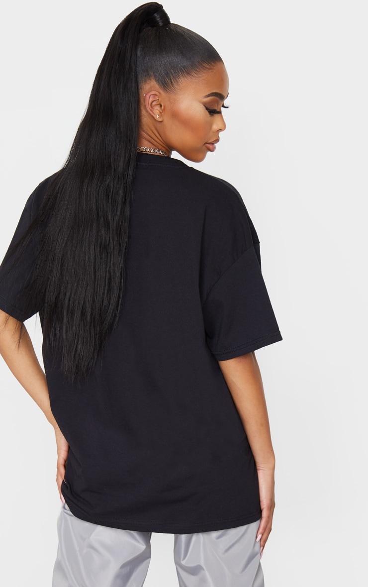 Black South Dakota Printed T Shirt 2
