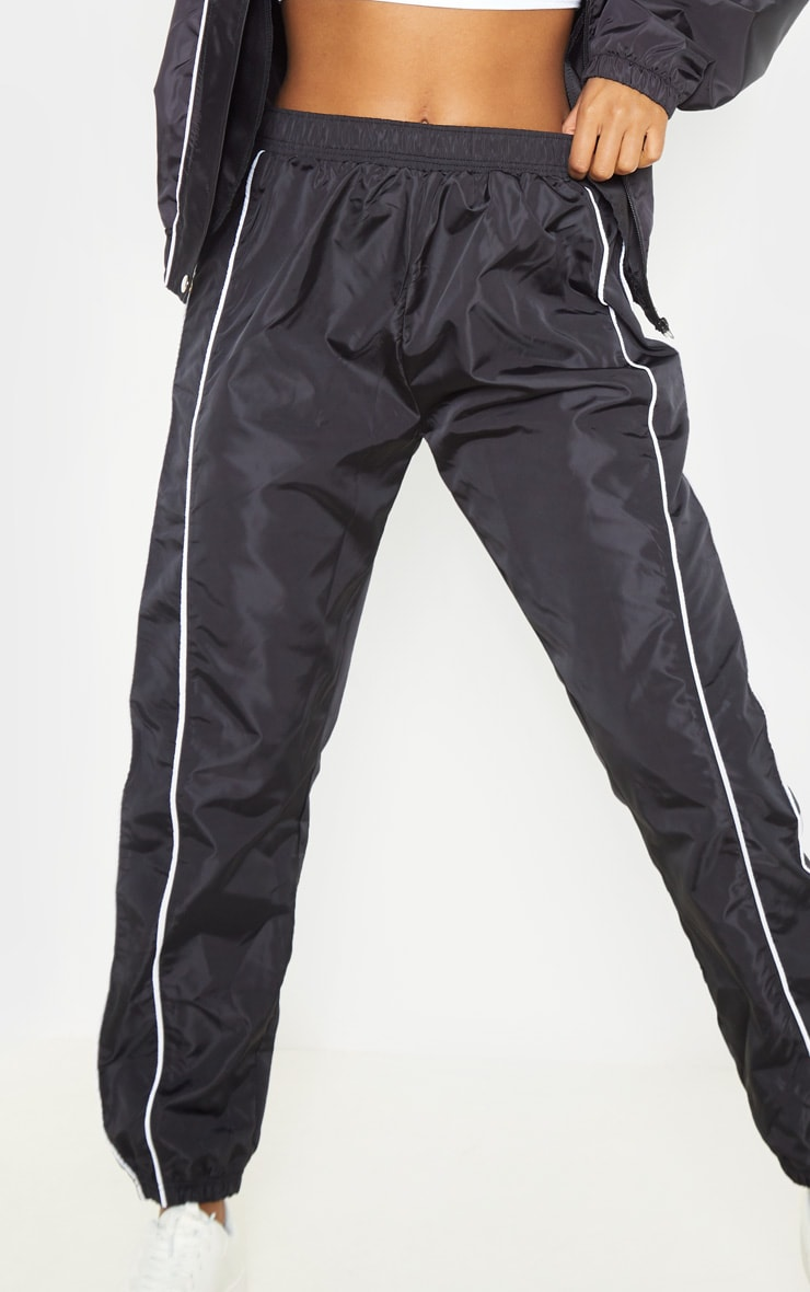 Black Shell Tracksuit Bottom 5