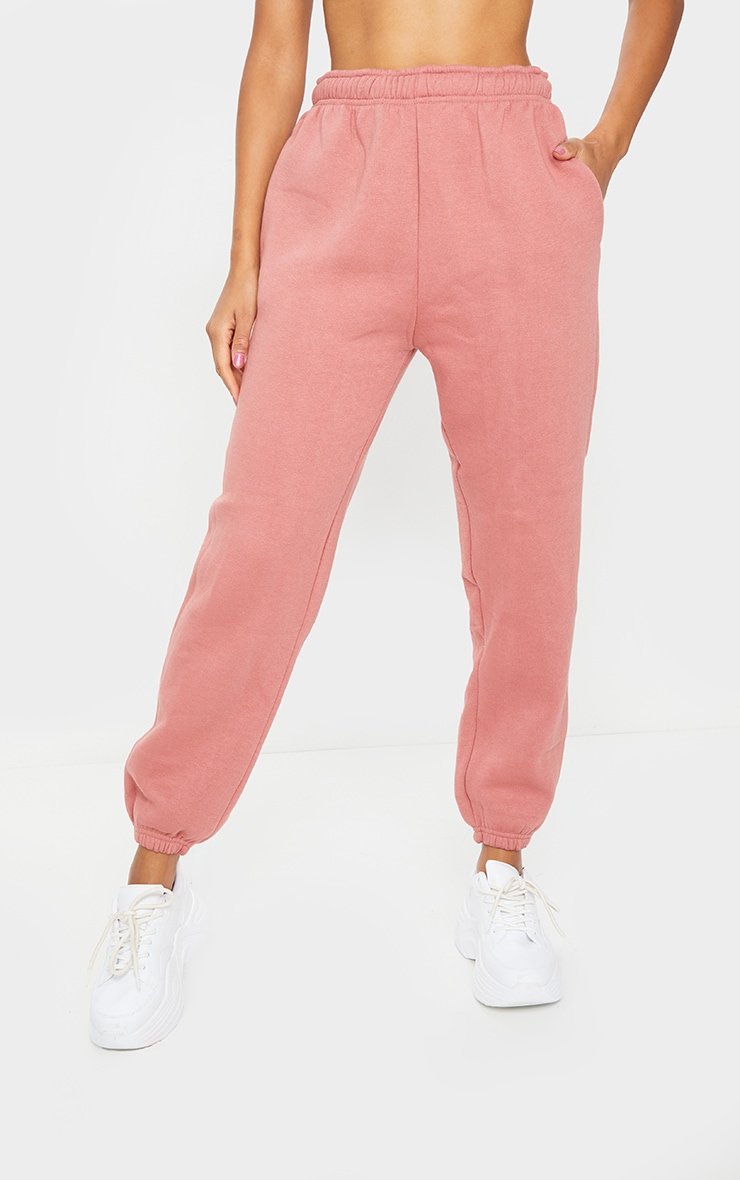 Dusty Pink Sweat Pant Joggers 2