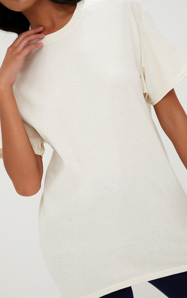 Ultimate Natural Oversized T Shirt 5