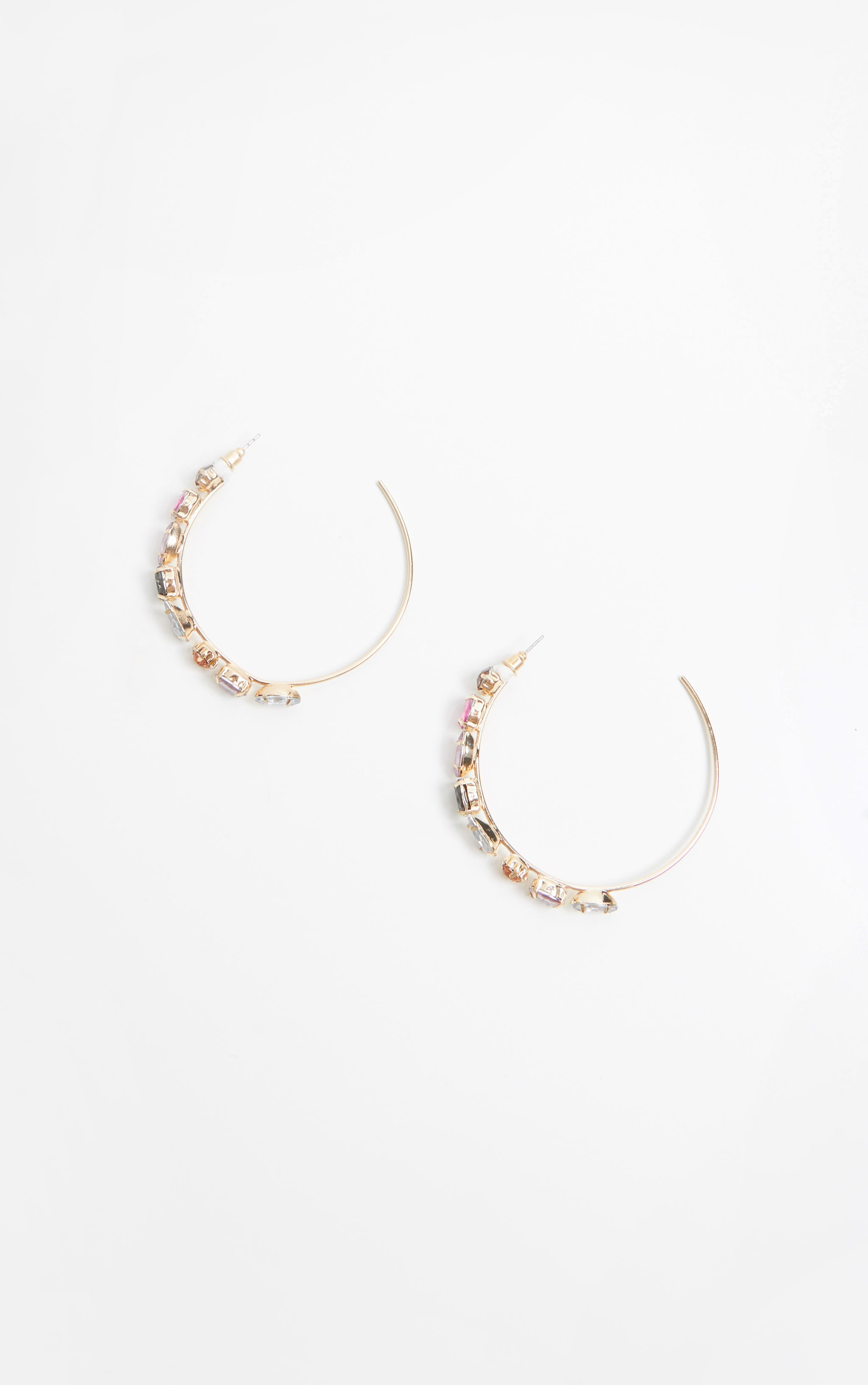 Multi Jewelled Hoops 3