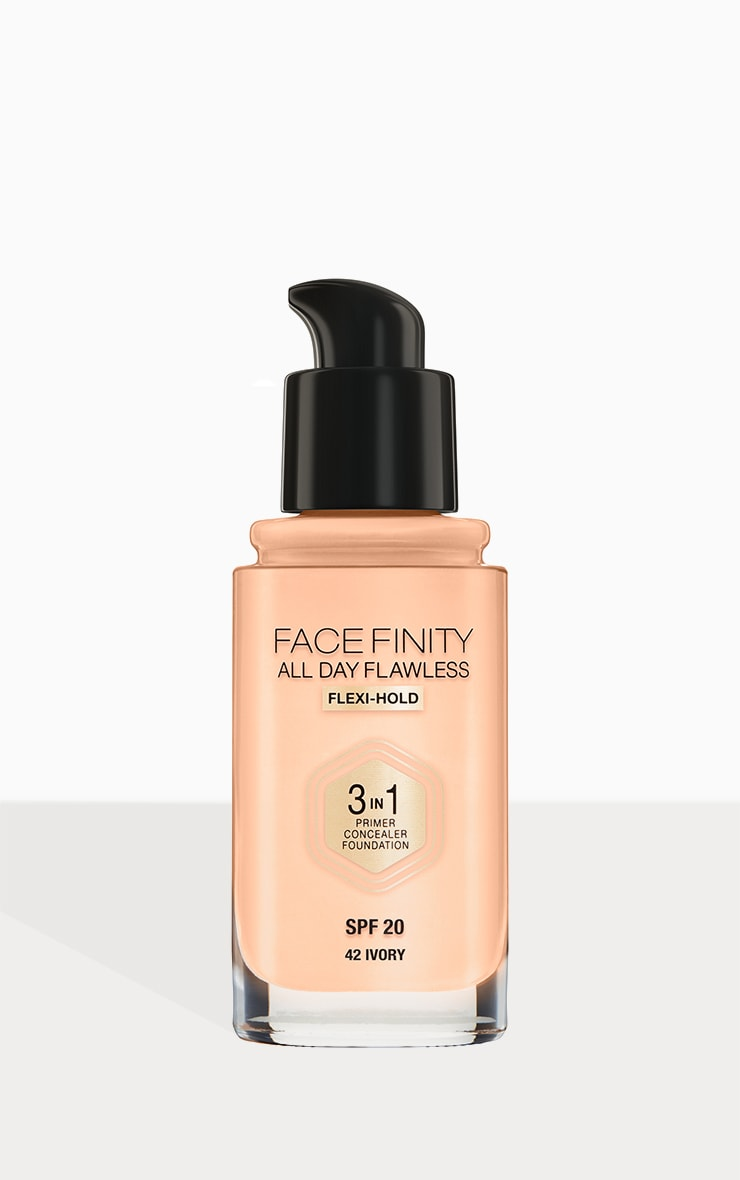 Max Factor Facefinity All Day Flawless Foundation Ivory 3
