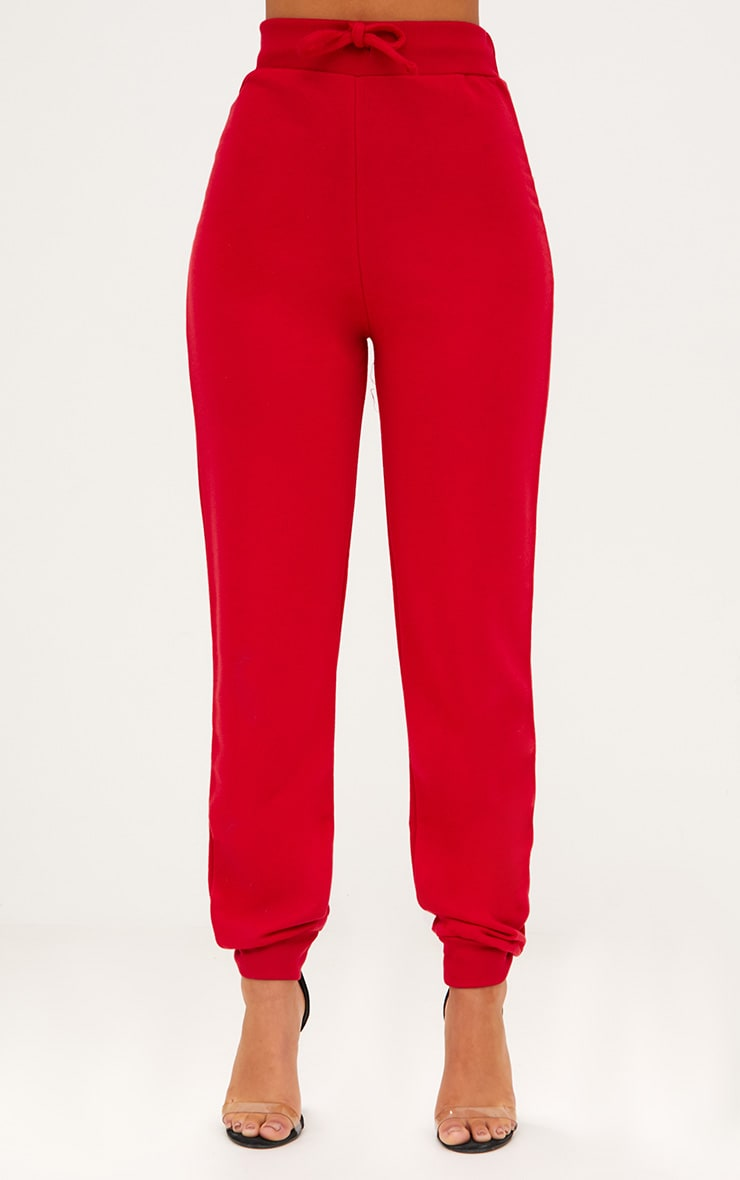 Red Ultimate Sweat Joggers 3