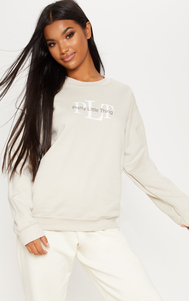 PRETTYLITTLETHING Sand Sweater