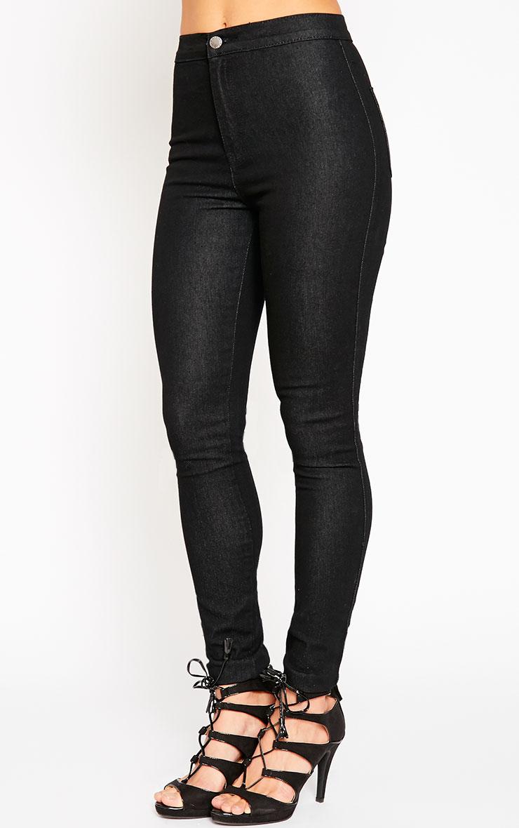 Este Black 2 Pocket High Waisted Jean 3