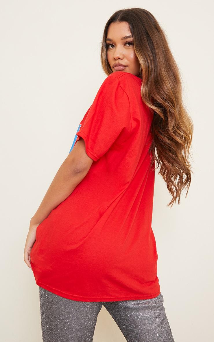 Red Wham Last Christmas Printed T Shirt 2