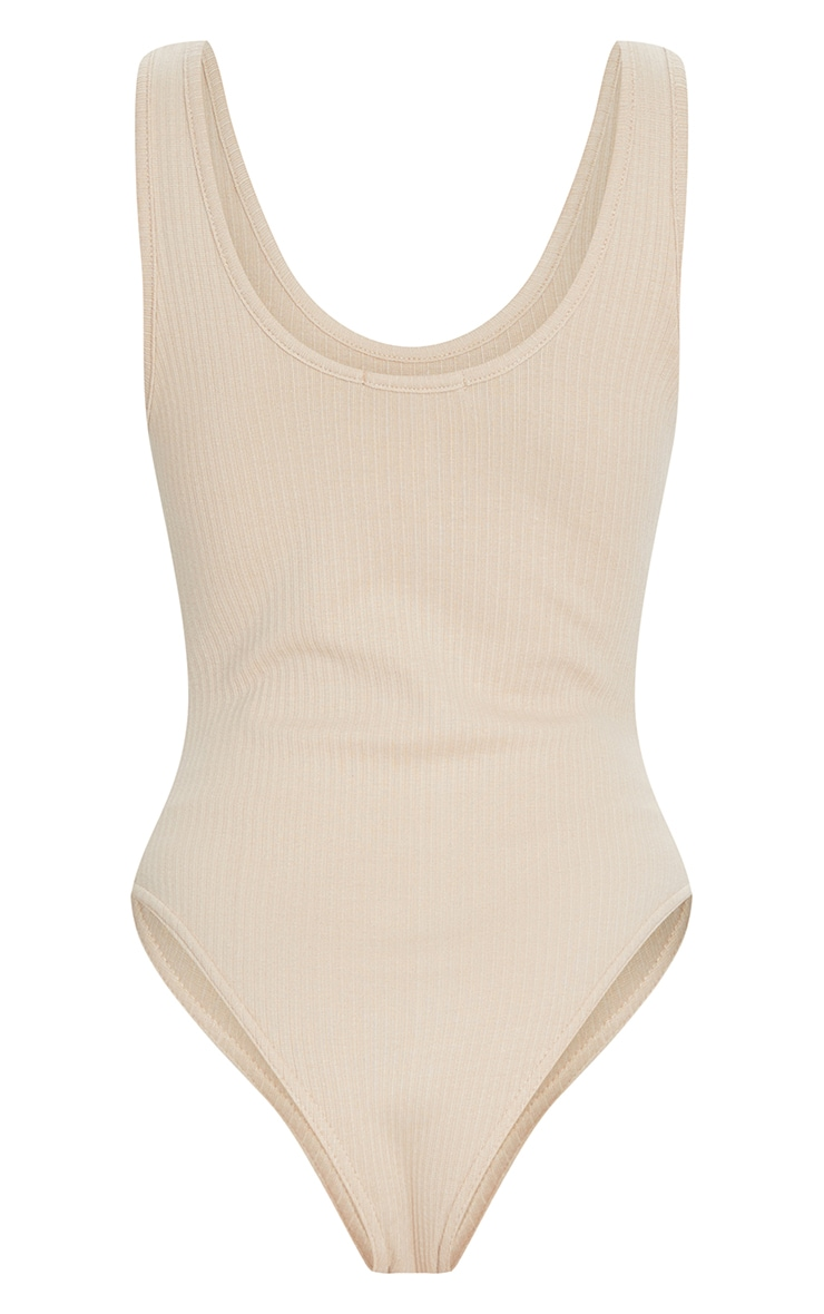 Nude Rib Scoop Neck Bodysuit 6