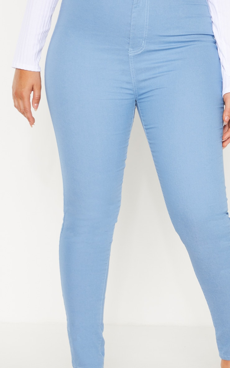Plus Mid Wash Stretch Jegging 5