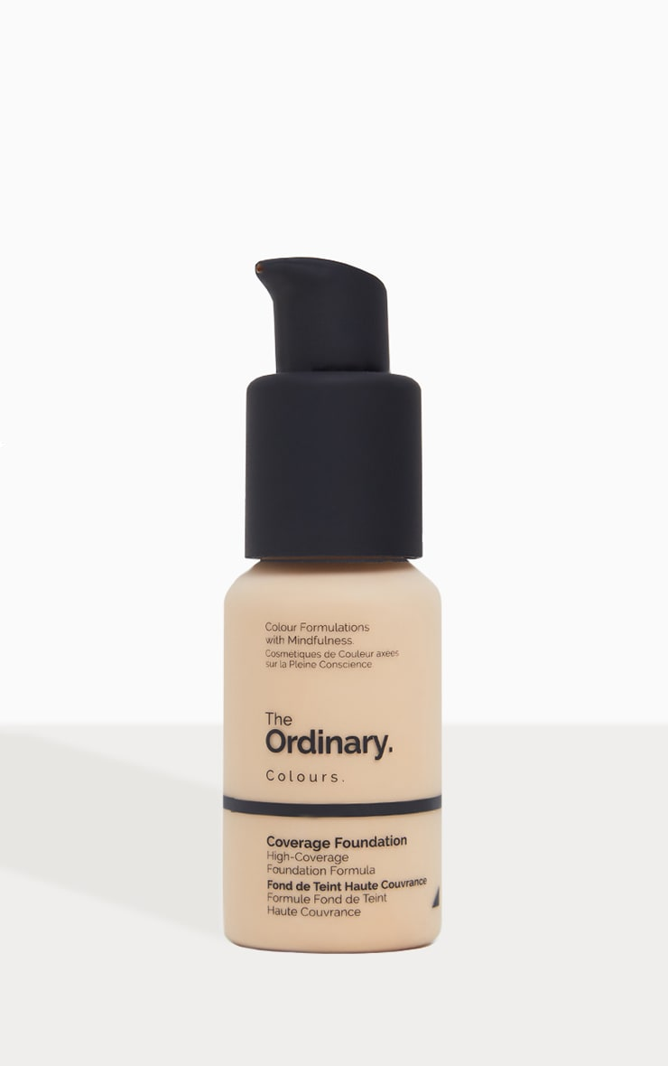 The Ordinary fond de teint couvrant 1.2Y Clair 1