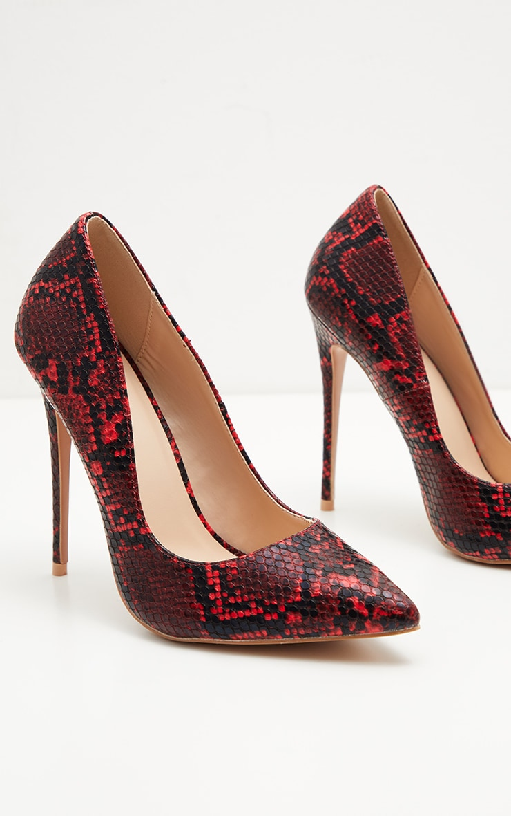 Red Snake High Court Shoes  3