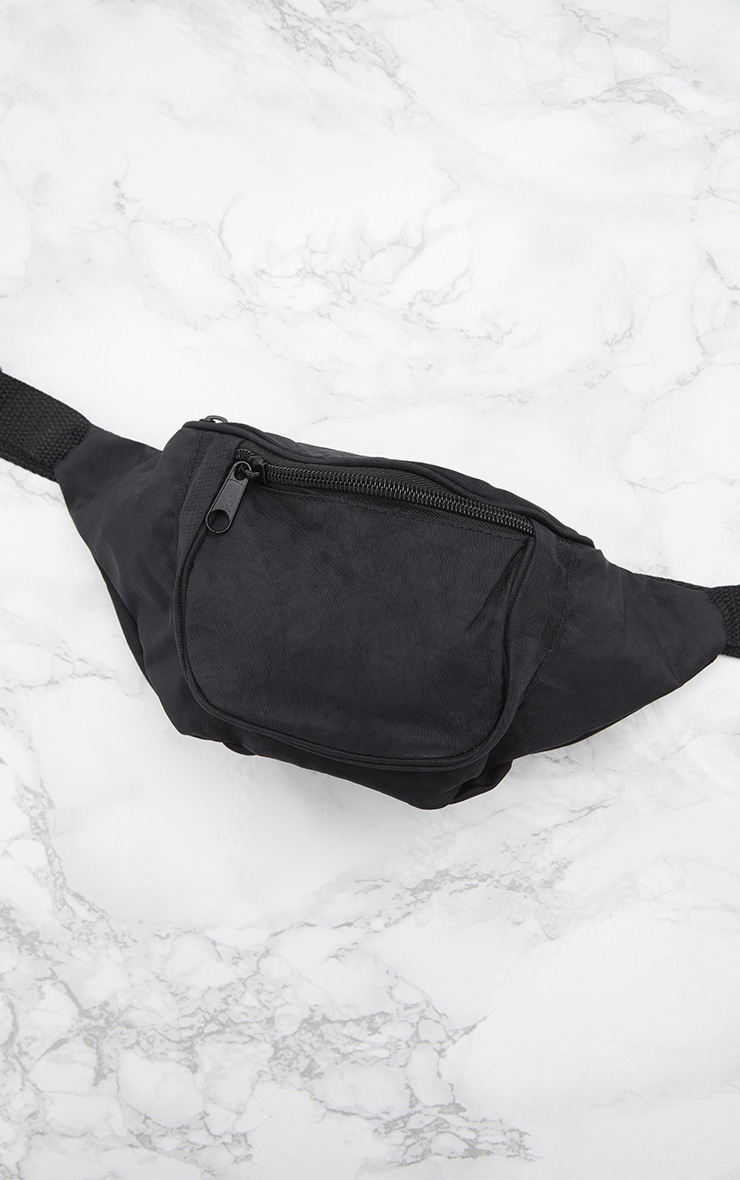 Black Small Bum Bag 6
