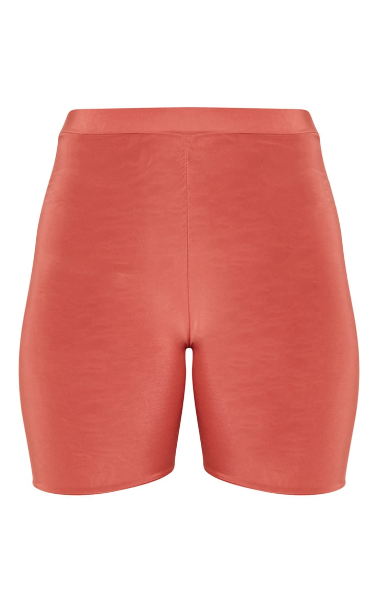 Bella Spice Slinky High Waisted Cycle Shorts 3
