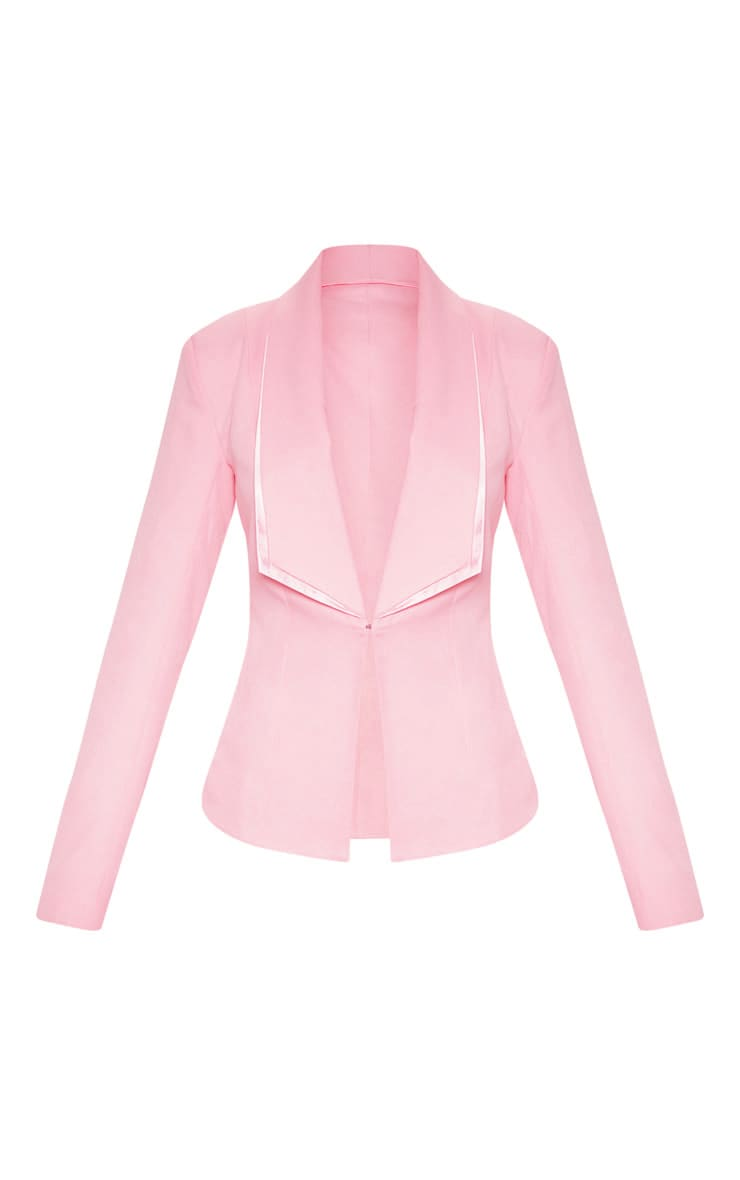 Avani Pink Suit Jacket 3