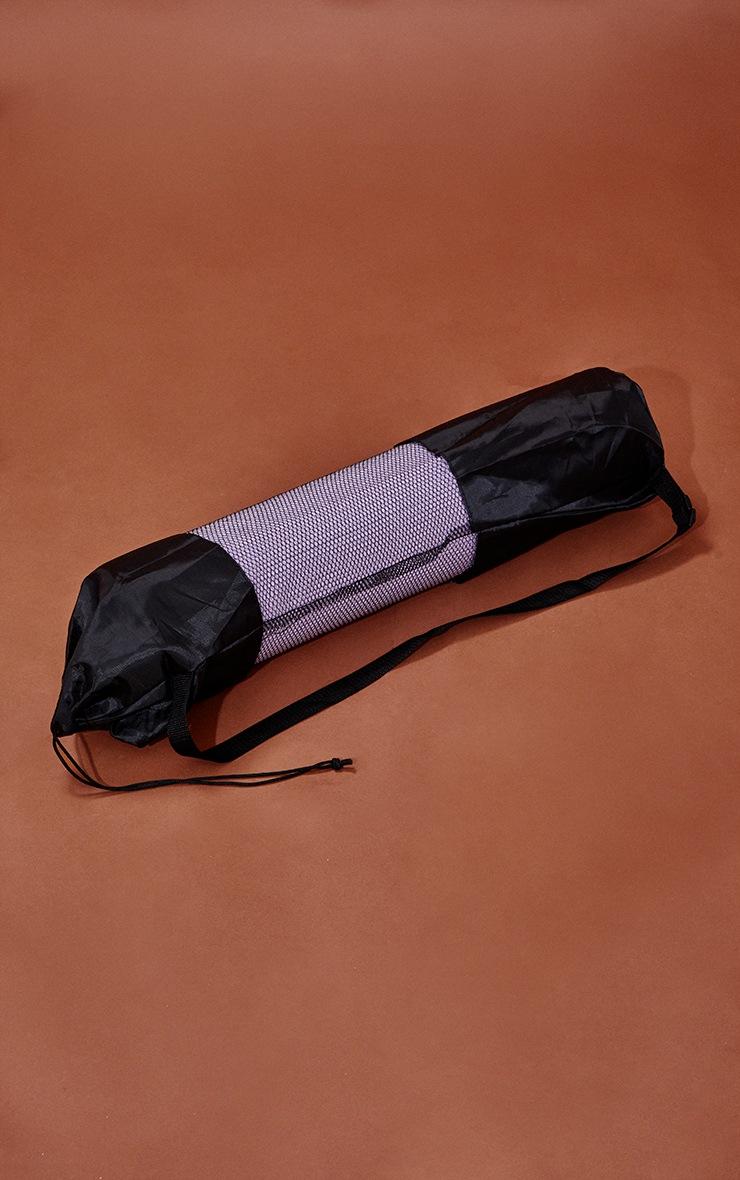 Lilac Yoga Mat With Bag 3