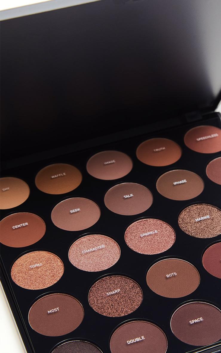 Morphe 25B Bronzed Mocha Eyeshadow Palette 2
