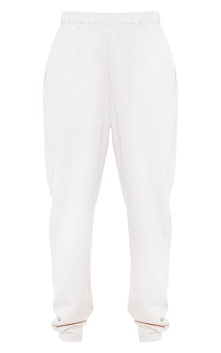 Petite White Casual Track Pants 3