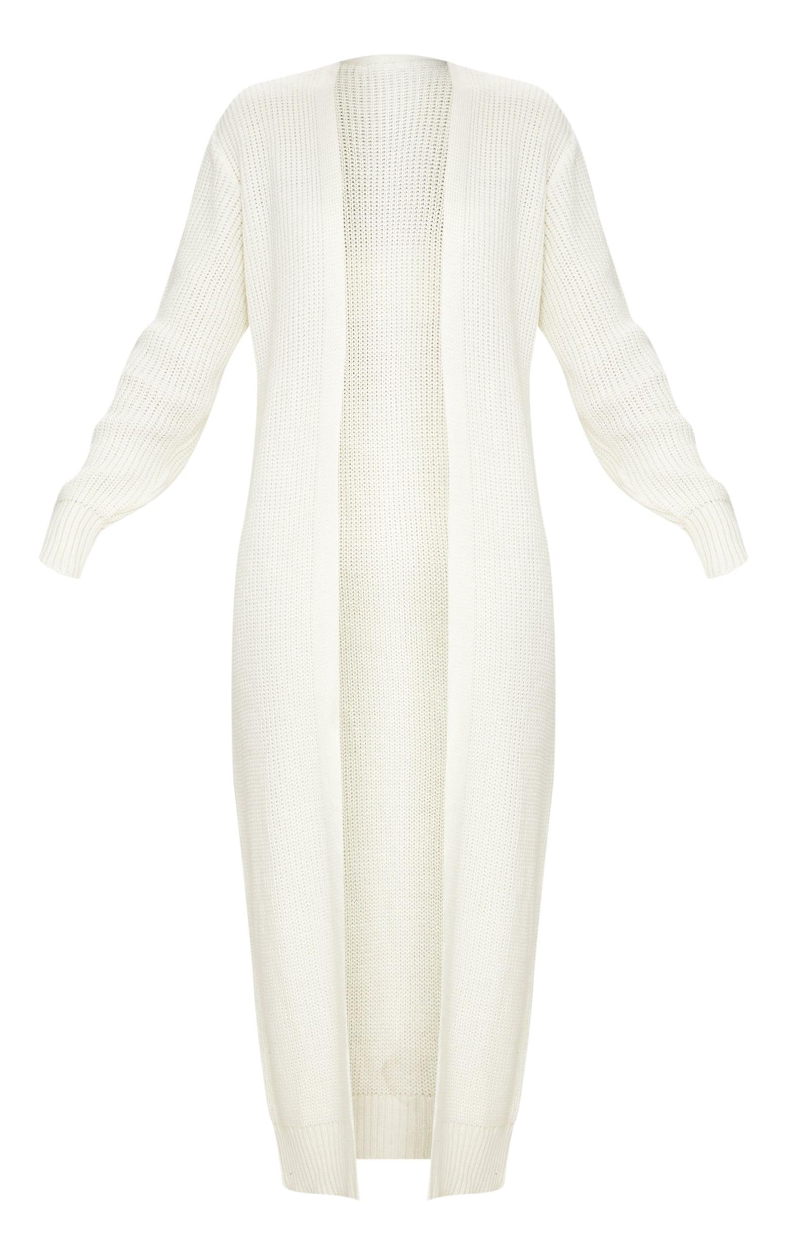 Cream Maxi Knitted Cardigan 3