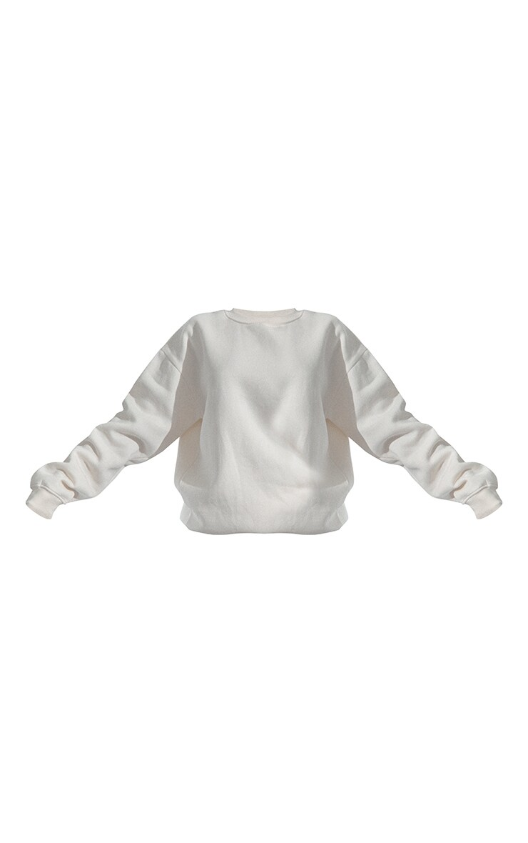 RENEW Plus Cream Oversized Sweatshirt 5