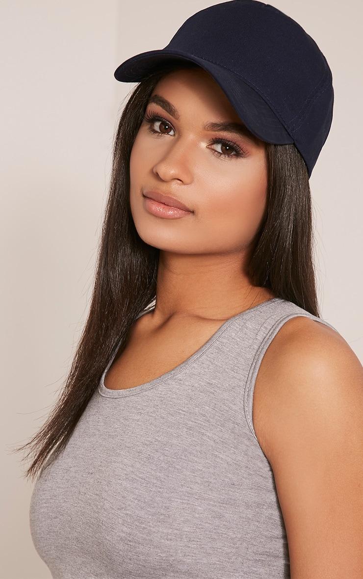 Carlita Navy Trucker Cap 2