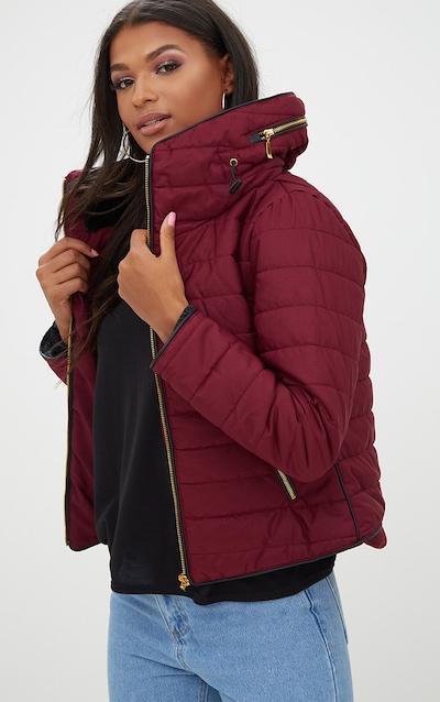 f3d98f7e8 Mara Burgundy Puffer Jacket