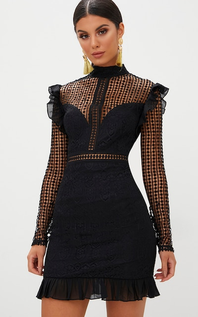 lace dress lace dresses for women prettylittlething usa