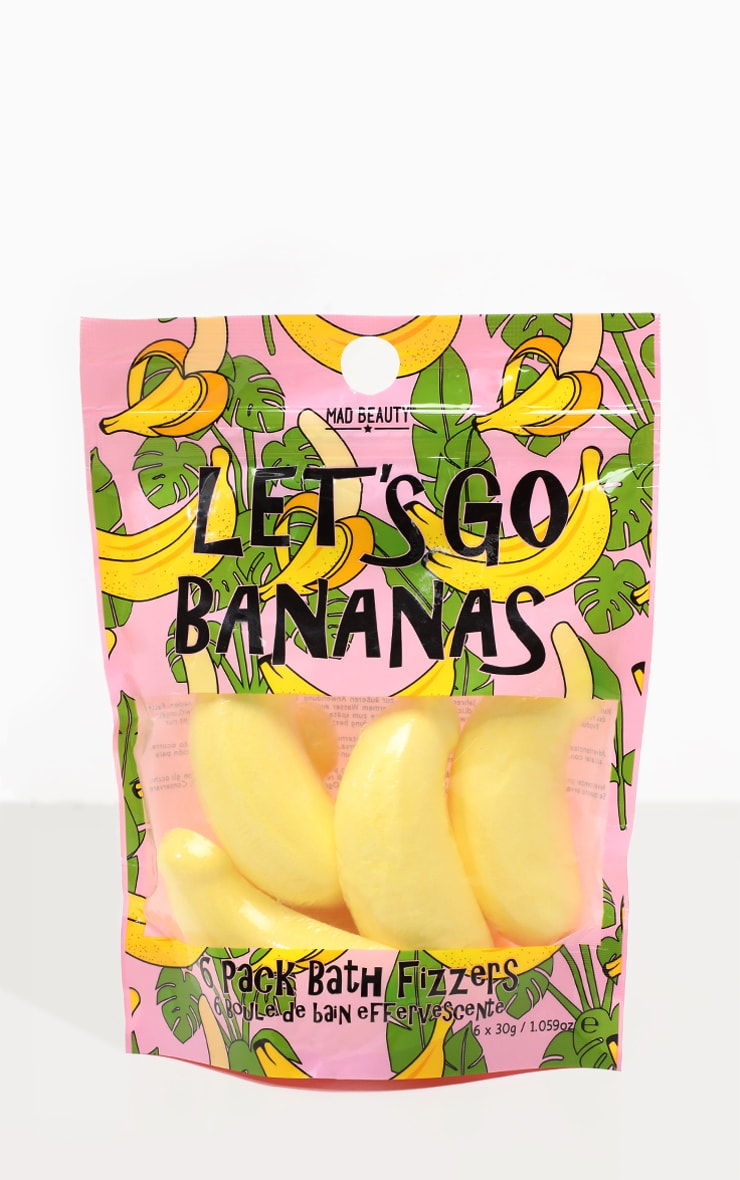 Let's Go Bananas Bath Fizzers 1