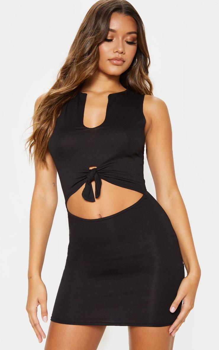Juniors black bodycon dress pretty little thing jean review tesco sheer