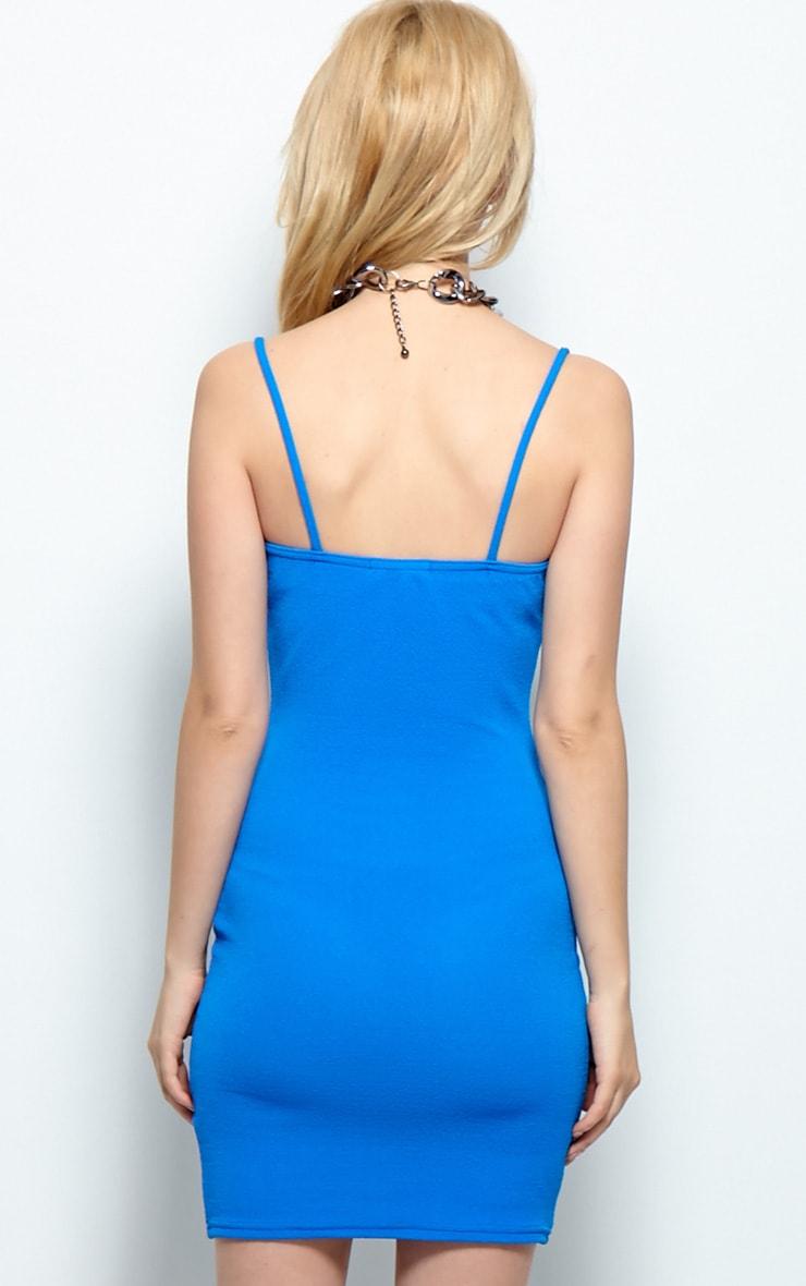 Kristin Premium Blue Strappy Dress 2