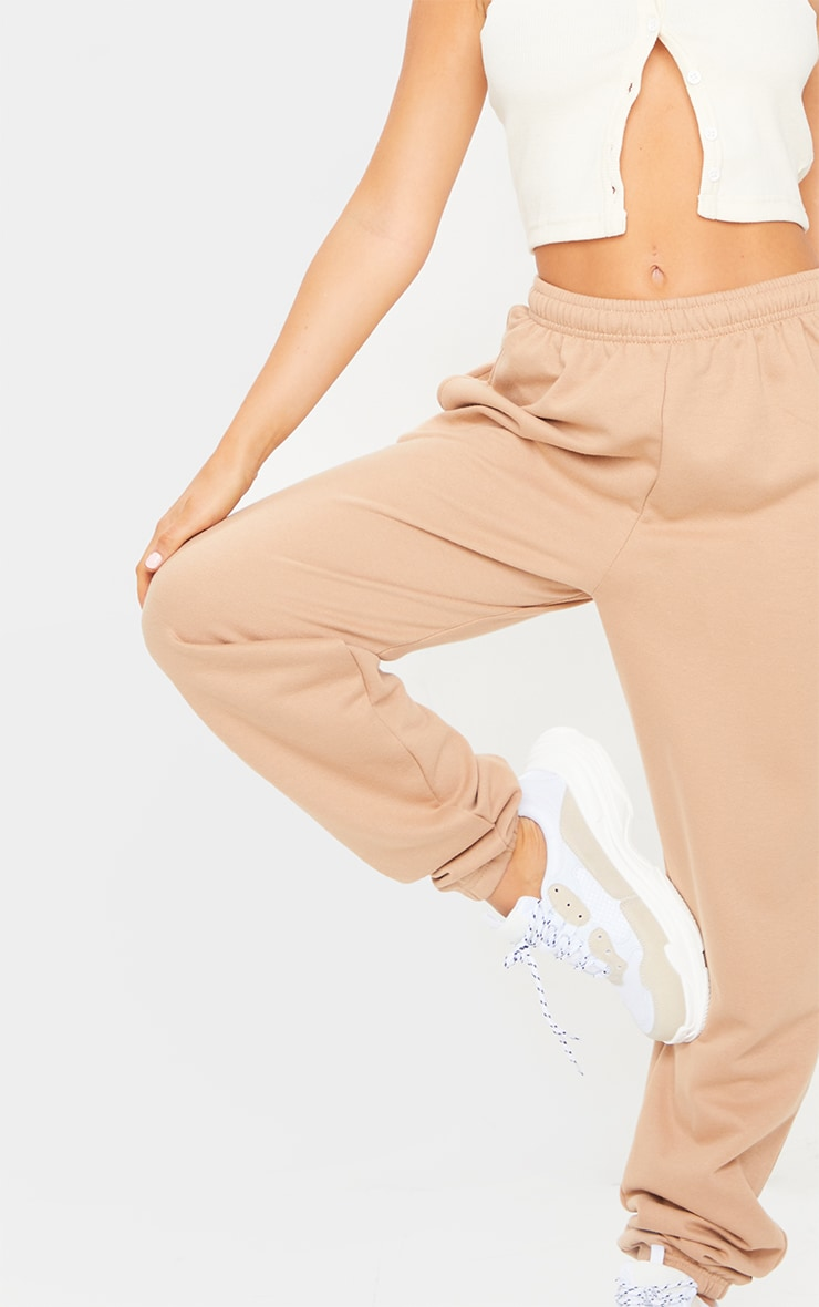 Taupe Sweat Pant Joggers 4