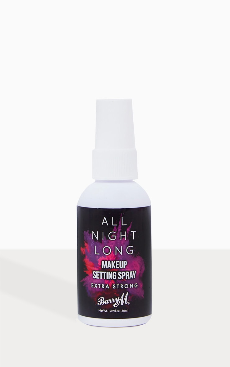 Barry M All Night Long Extra Strong Setting Spray 2