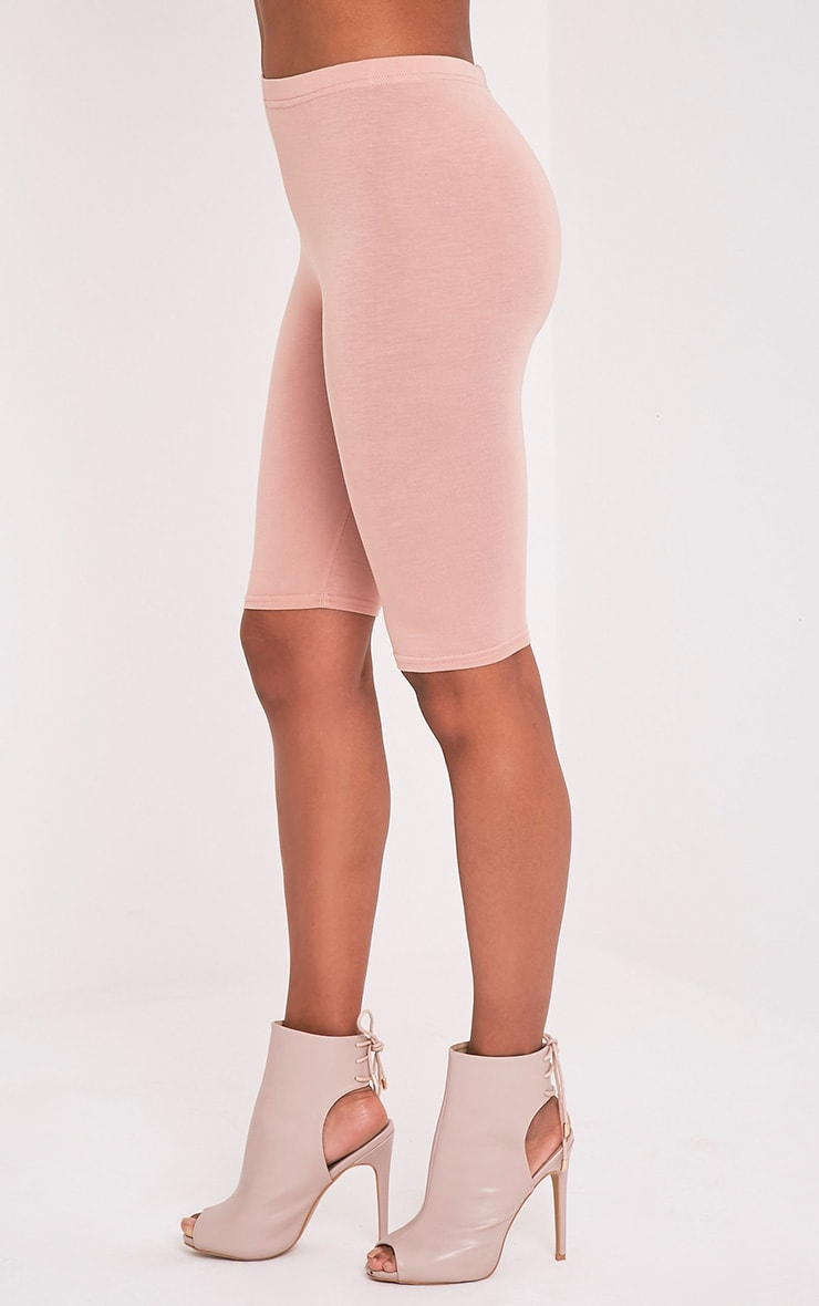 Basic Nude Cycle Shorts 4