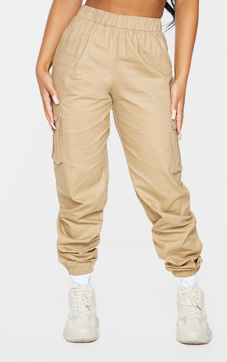 Petite Stone Pocket Detail Cargo Trousers 2