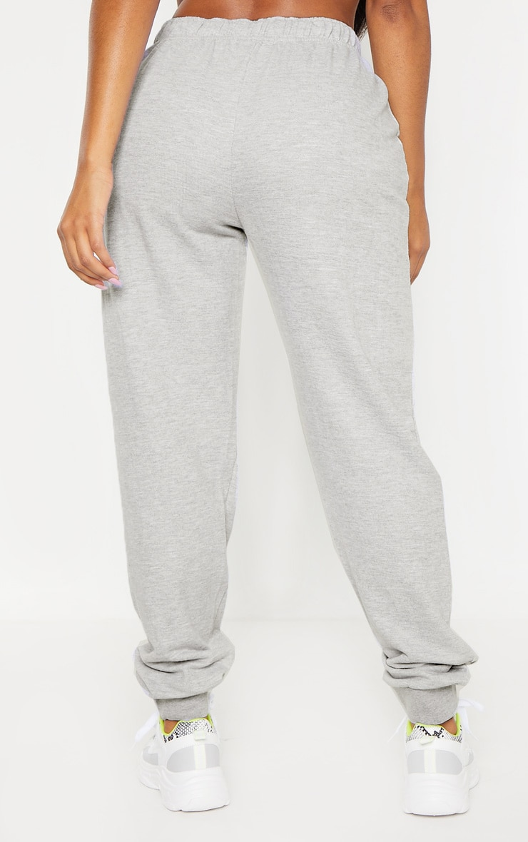 Shape Grey Lace Up Detail Sweat Jogger 4