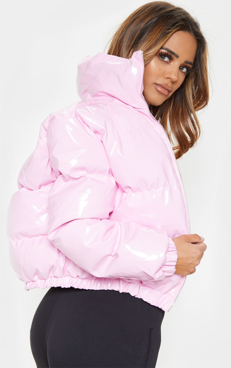 Pink Vinly Puffer 3