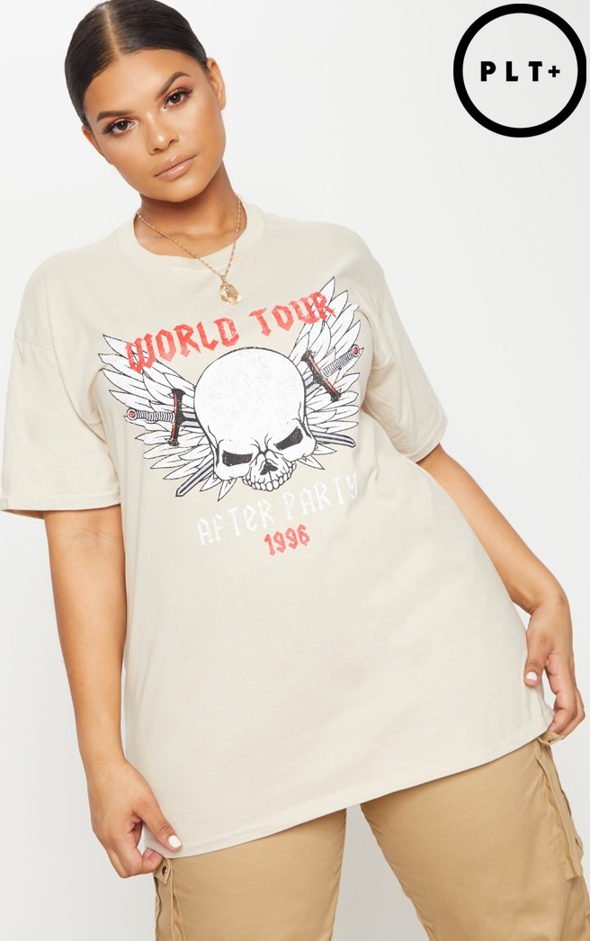 Plus Stone World Tour Oversized T-Shirt 1