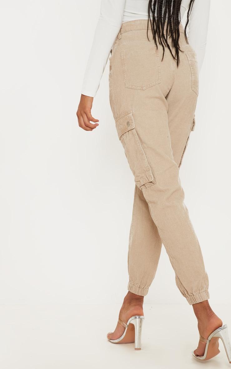 Stone Cord Cargo Pants 4