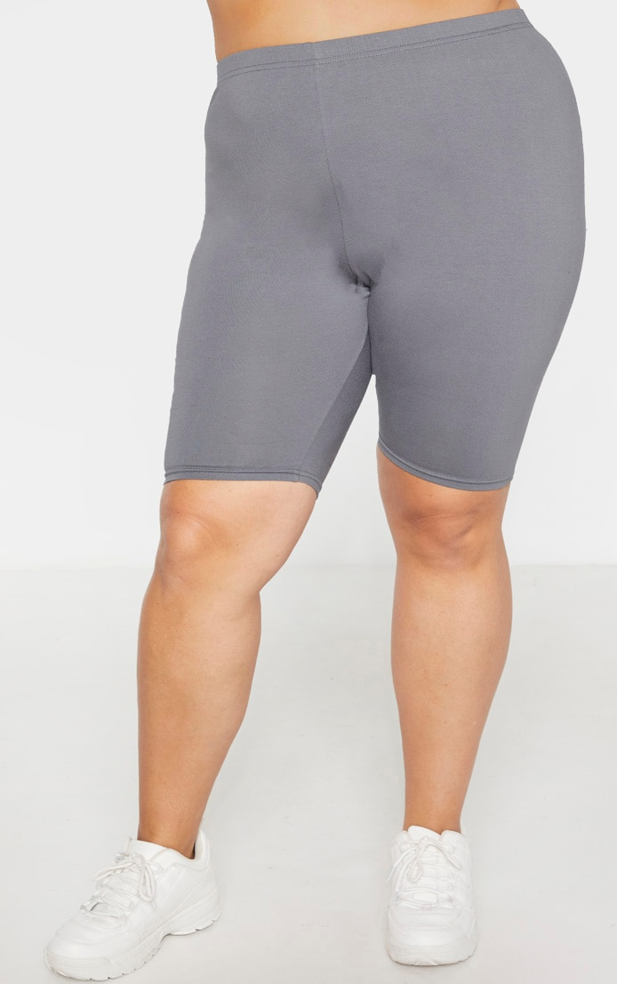 Plus Charcoal Basic Bike Short 2