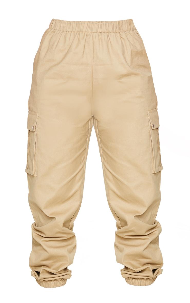 Petite Stone Pocket Detail Cargo Trousers 5