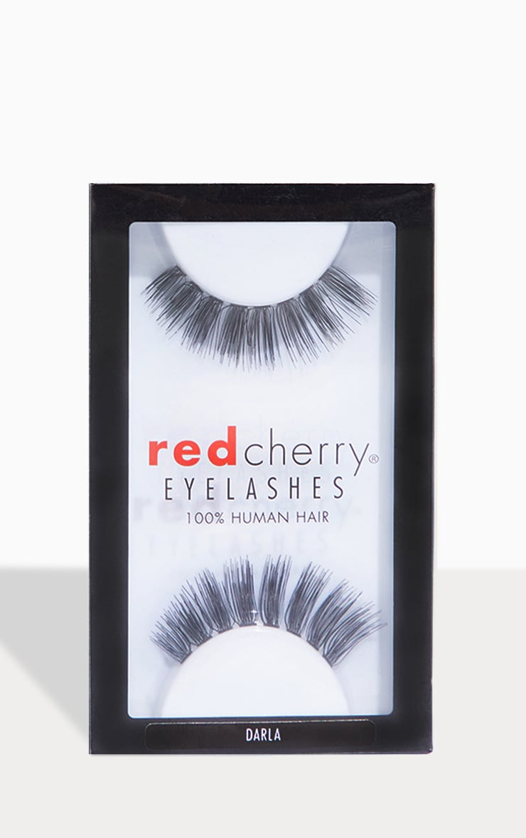 Red Cherry Eyelashes Darla 1