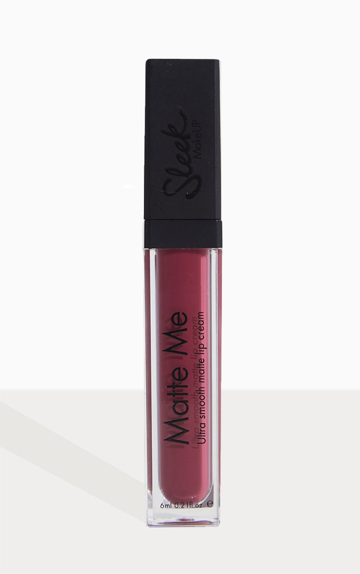 Sleek MakeUP Velvet Slipper Matte Me Liquid Lipstick 2